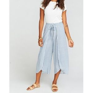 Show me your MuMu   Striped Limbo Pants
